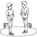 Подвижные игры на юбилей | Вытолкни из круга