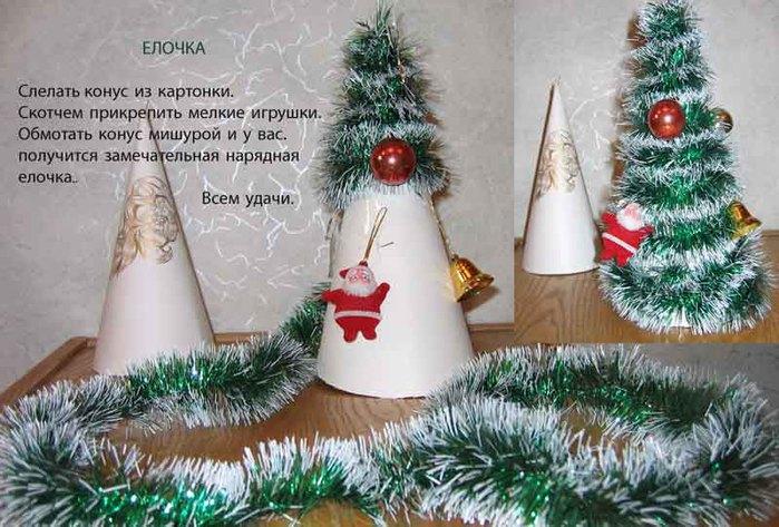 Инструкция новогодней поделки своими руками