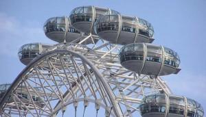 Регистрация брака на колесе обозрения «Лондонский глаз»