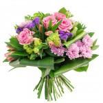Букет цветов в подарок на день рождения