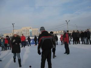 Организация тимбилдинга на природе зимой